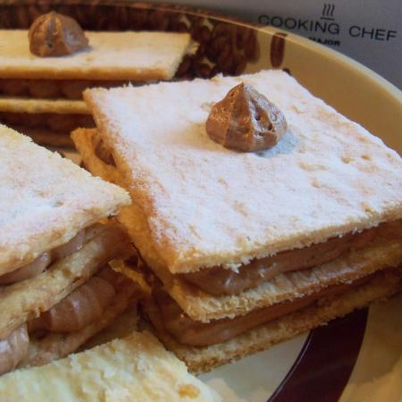 Millefeuille chocolat cappuccino