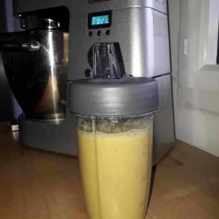Smoothie banane passion