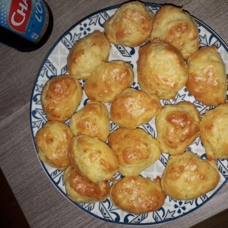 Madeleines aux fromages