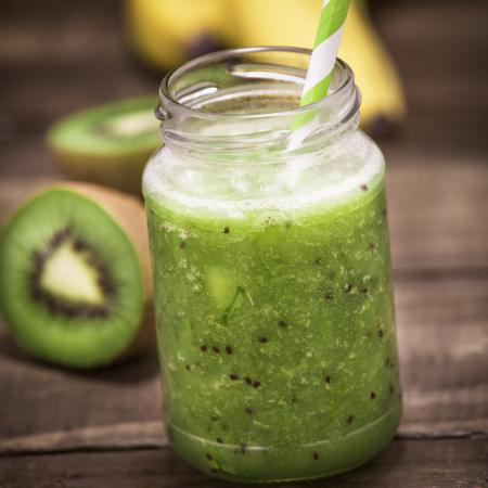 Smoothie tonique du matin kiwi/poire