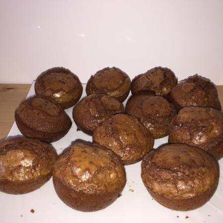 Brownie nutella noisettes