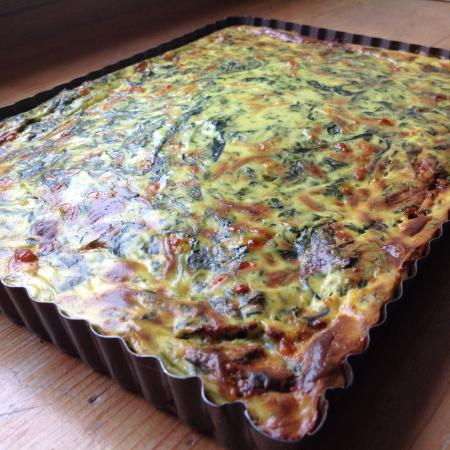 Quiche aux épinards facile