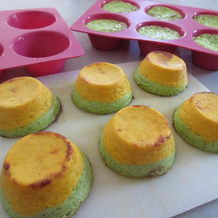 Flan courgette carotte