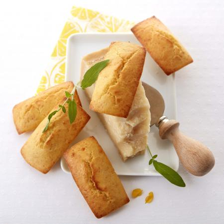 Financiers au parmesan