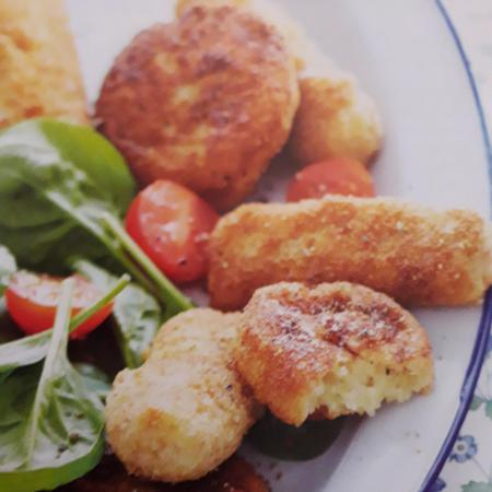Croquettes jambon fromage