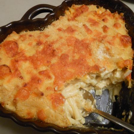 Gratin de macaronis mac and cheese